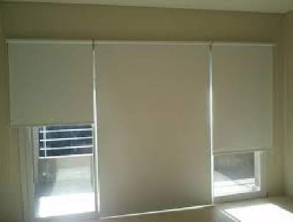 Limpieza de cortinas Roller y black out.