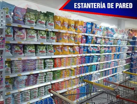ESTANTERIA DE PARED NUEVA Y DE SEGUNDA