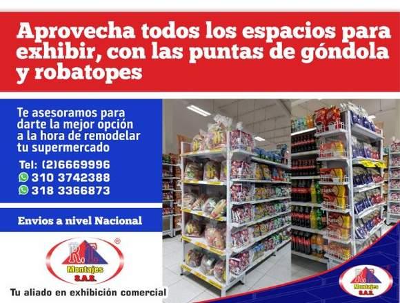 Estantería para supermercados económica