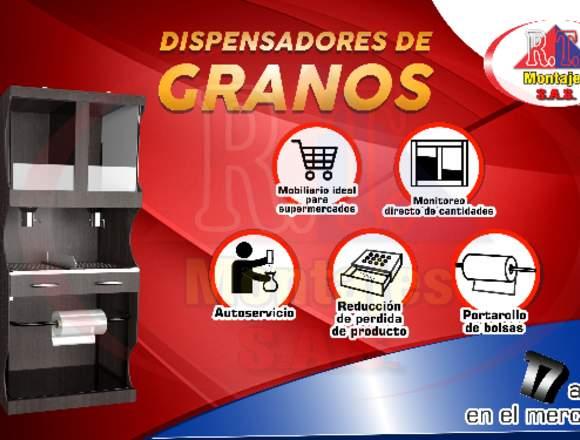 DISPENSADOR DE GRANOS