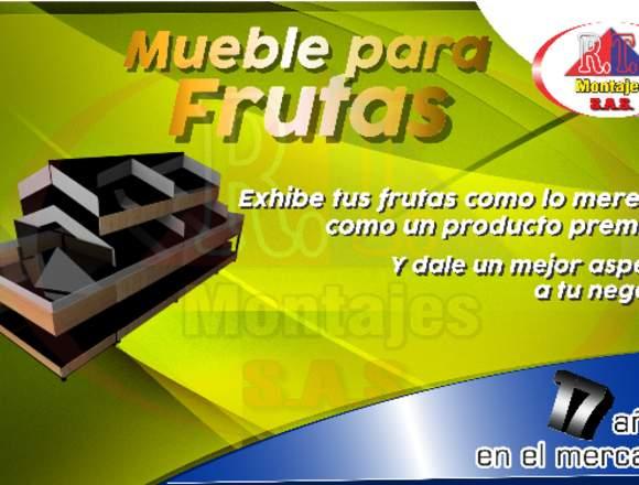 MUEBLE PARA FRUTAS Y VERDURAS
