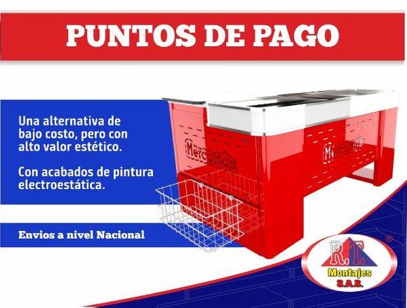PUNTO DE PAGO PARA SUPERMERCADOS