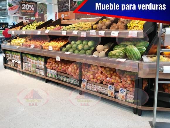 MUEBLE PARA VERDURAS PREMIUM