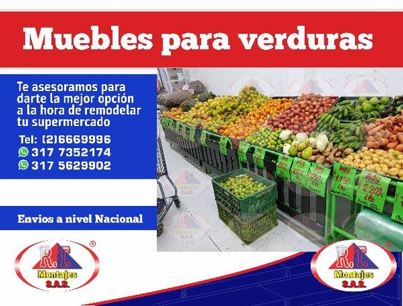 MUEBLE PARA VERDURAS!