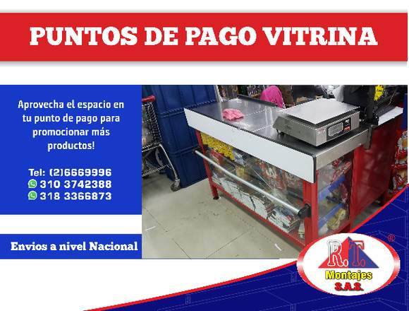 PUNTO DE PAGO VITRINA!