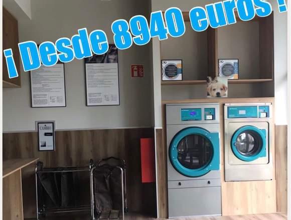 Lavanderías Autoservicio en toda España