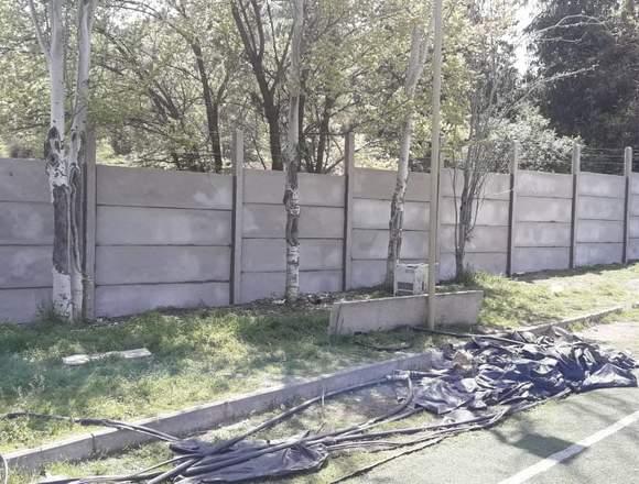 instalación y reparación de muro bulldog