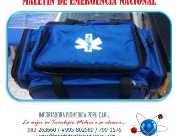 MALETIN DE EMERGENCIA NACIONAL WHATSAPP 983263660