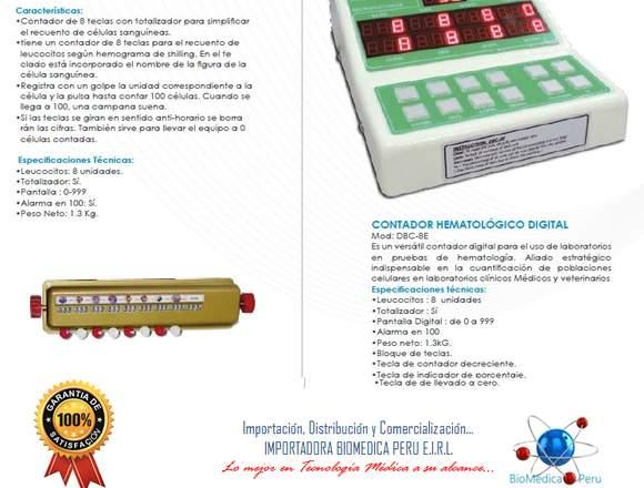 CONTADOR HEMATOLOGICO GEMMY IMPORTADORA BIOMEDICA