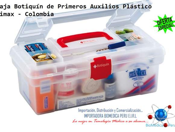 CAJAS BOTIQUIN DE PRIMEROS AUXILIOS 983263660