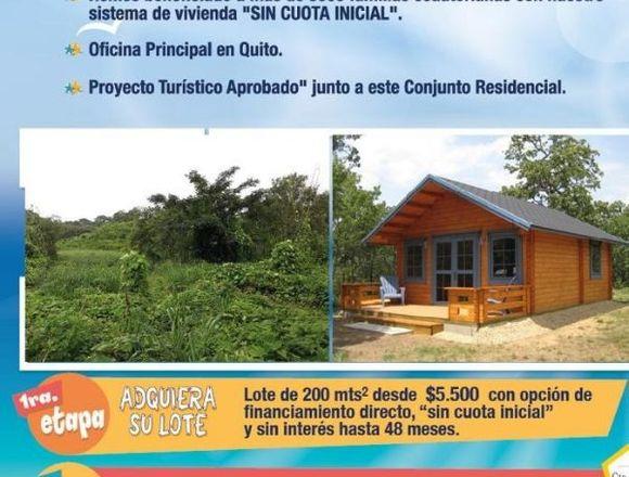 LOTES DE TERRENO DE 200m² EL DORADO TONSUPA