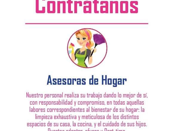 Encuentra a tu Asesora de Hogar