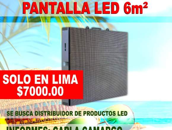 Pantalla LED fija 6m2