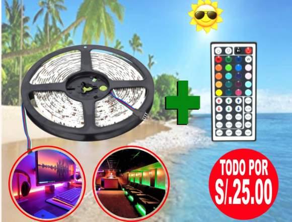CInta LED RGB con control