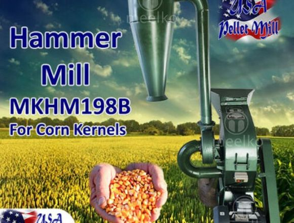 Meelko hammer mills are designed with efficiency