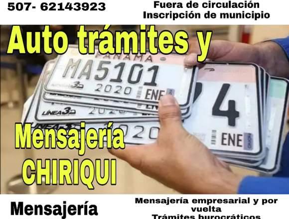 Trámites y mensajería Chiriquí