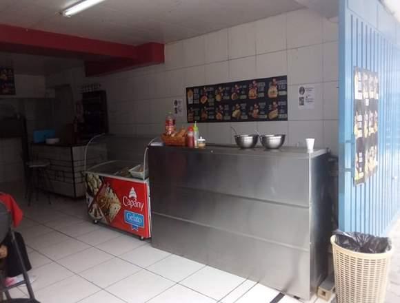 Vendo negocio restaurante comida rápida en Quito
