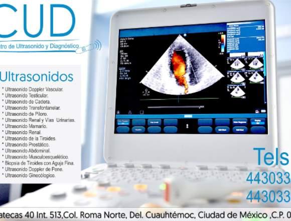 CUD Centro de ultrasonido y Diagnóstico