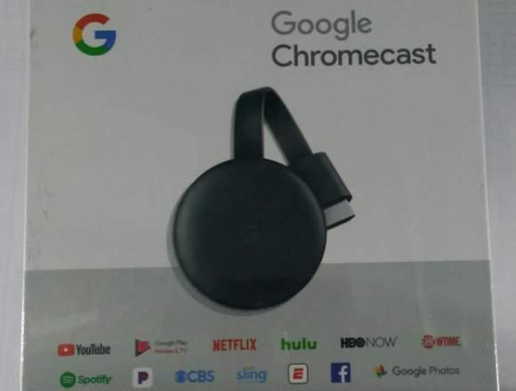 Google Chromecast 3ra Generacion Digital Hdmi