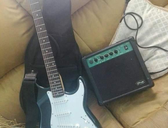 VENDO O CAMBIO Guitarra eléctrica marca STAGG