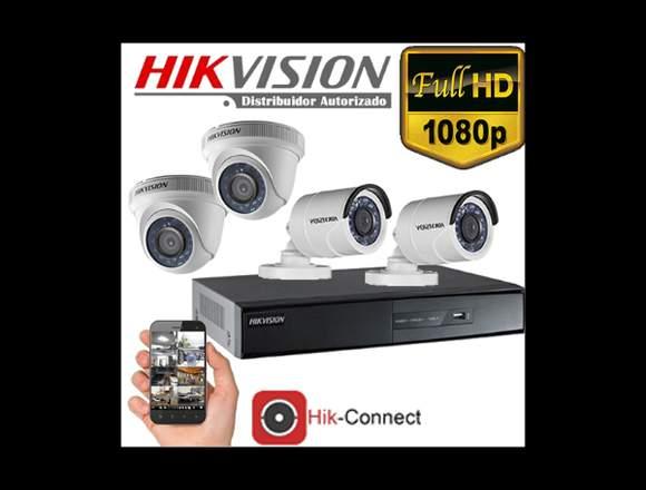SISTEMA DE CCTV COMPLETO 1080P