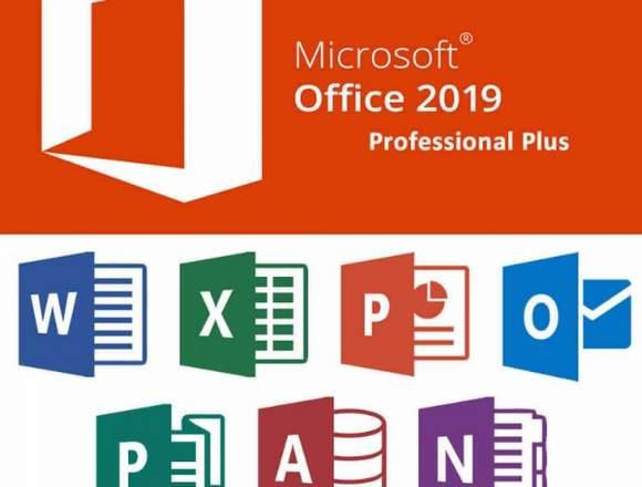 Instalación Office 2019 Professional Plus FULL