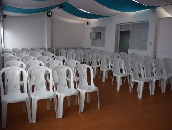 Alquiler Salones Para Conferencias, Talleres...