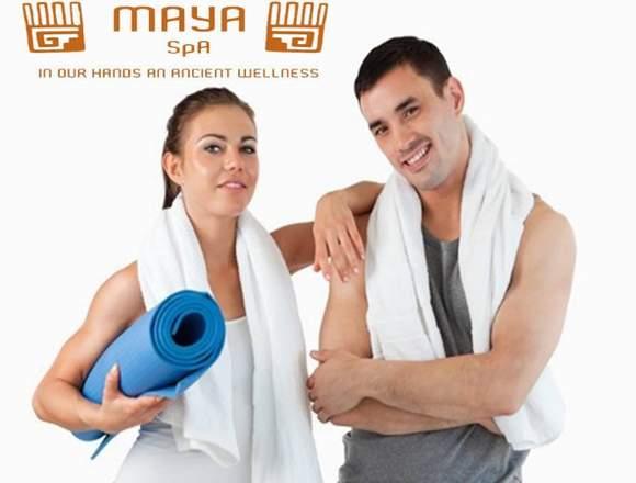 MASAJE MAYA RELAX EN MAYA SPA MERIDA