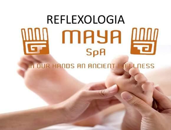 REFLEXOLOGIA EN MAYA SPA MERIDA