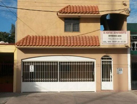 DEPARTAMENTOS TIPO ESTUDIO AMUEBLADOS LOS MOCHIS