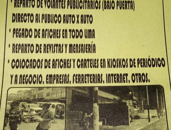 SERVICIOS DE. PUBLICIDAD