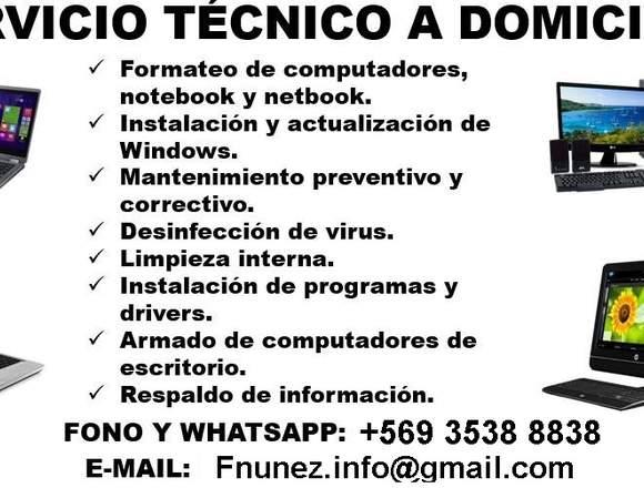 Servicio Técnico Computacional y Formateo