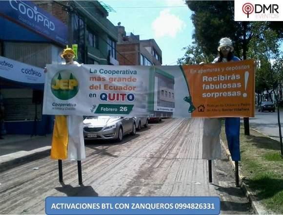 SERVICIO DE MIMOS Y ZANQUEROS A NIVEL NACIONAL