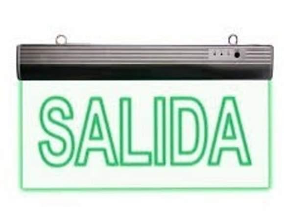 Letrero LED Salida OFERTA