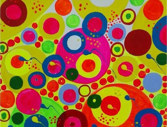 Venta de pintura abstracta de Gabino Amaya Cacho