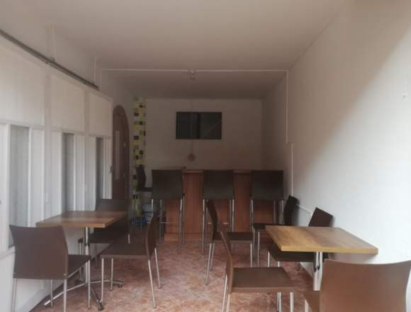 alquiler de Negocio(amoblado)en San Antononio(RNG)