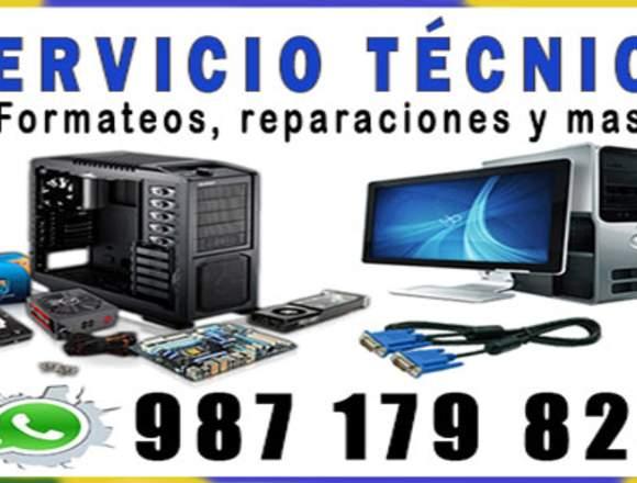 Servicio Tecnico de Computadoras en Los Olivos