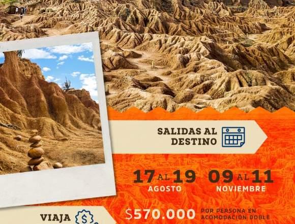 Cambia de ambiente en nuestro Desierto la Tatacoa