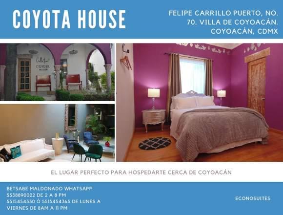 Hermosas suites cerca de Coyoacán
