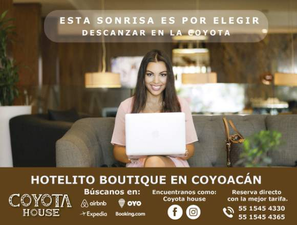 Hermosas suites, ¡Reserva Ya!