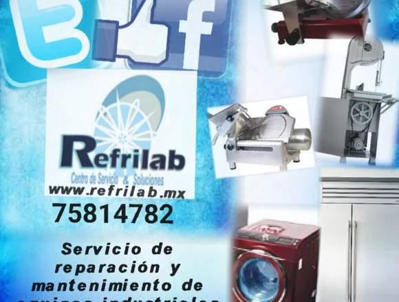 Reparación de equipos industriales línea blanca