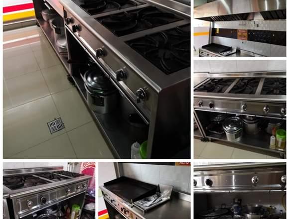 Menaje, equipos de cocina, mobiliario restaurante