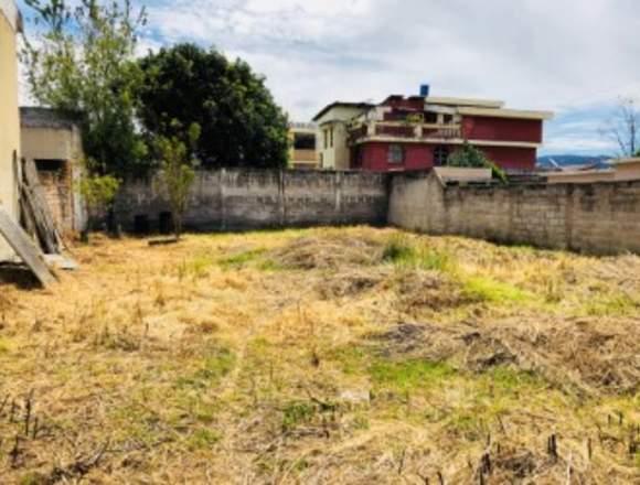 Se vende terreno en Capelo Valle de los Chillos