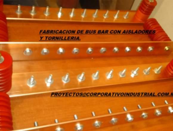 corte doblez y punzón de barras de cobre