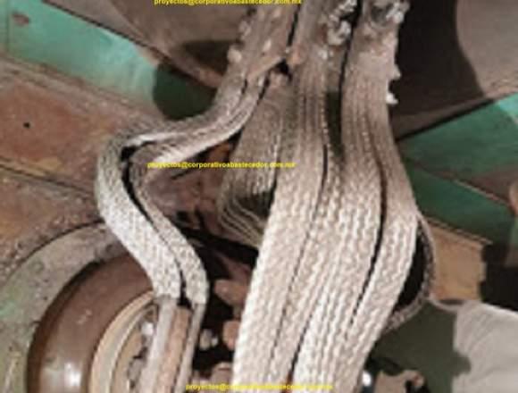 trencillas de cobre y trenza de cobre