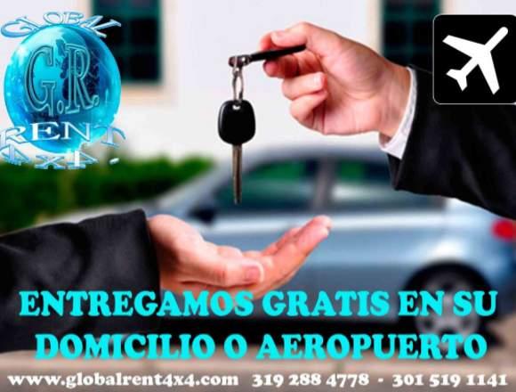 ALQUILER DE CARROS AUTOMÓVILES EN CALI