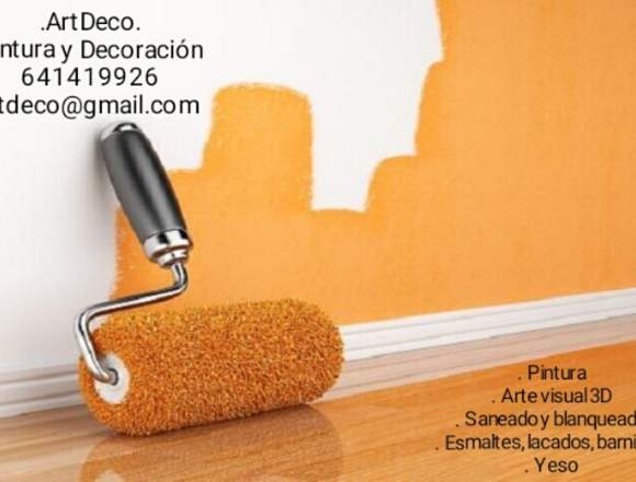 Pinto tu casa o negocio, económico
