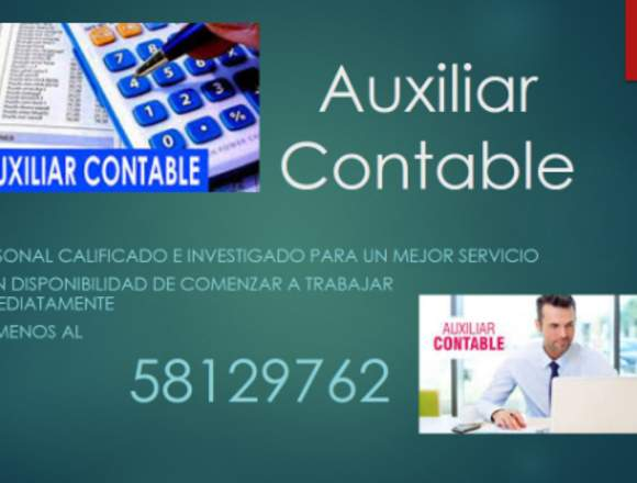 SERVICIO DE PERSONAL PARA EL ÁREA DE CONTABILIDAD