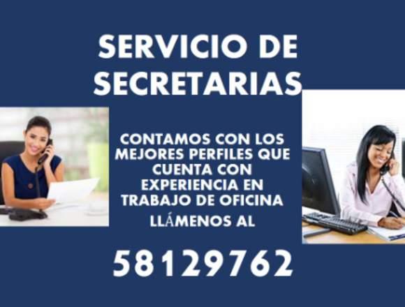 SERVICIO DE SECRETARIA