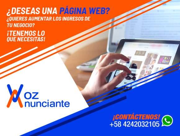 VOZ ANUNCIANTE: DISEÑO WEB